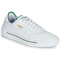 Topánky Muži Nízke tenisky Puma CALI.WH-AMAZON GREEN-WH Biela / Zelená
