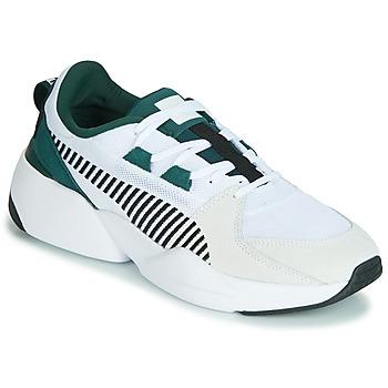 Topánky Muži Nízke tenisky Puma ZETA SUEDE.WHITE-PONDEROSA Biela