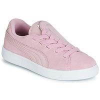 Topánky Dievčatá Nízke tenisky Puma PS SUEDE CRUSH AC.LILAC Fialová