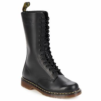 Topánky Polokozačky Dr Martens 1914 čierna