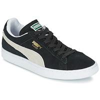 Topánky Nízke tenisky Puma SUEDE CLASSIC Čierna / Biela