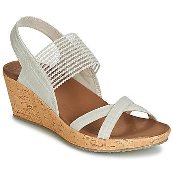 Topánky Ženy Sandále Skechers BEVERLEE Béžová