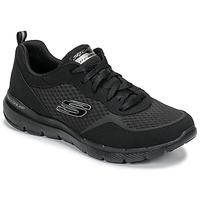 Topánky Ženy Fitness Skechers FLEX APPEAL 3.0 Čierna
