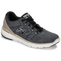 Topánky Muži Fitness Skechers FLEX ADVANTAGE 3.0 Čierna
