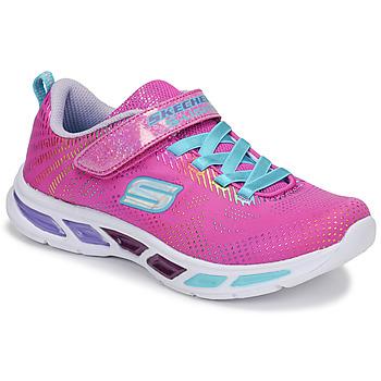Topánky Dievčatá Nízke tenisky Skechers LITEBEAMS Ružová