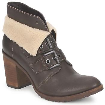 Topánky Ženy Čižmičky Un Matin d'Ete BRIAC Ebenová