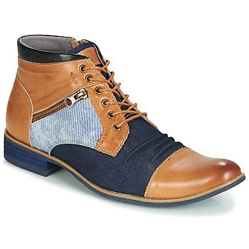 Topánky Muži Polokozačky Kdopa ALMERIA Ťavia hnedá / Modrá