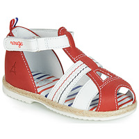 Topánky Deti Sandále GBB COCORIKOO Červená