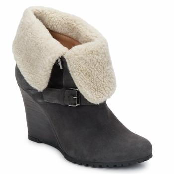 Topánky Ženy Čižmičky Atelier Voisin CARLA šedá