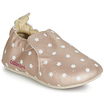 Topánky Dievčatá Papuče Catimini CARA Ružová / Zlatá