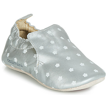 Topánky Dievčatá Papuče Catimini CATA Strieborná