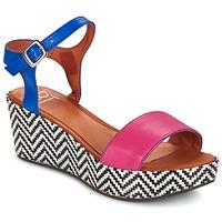 Topánky Ženy Sandále Betty London COQUETTE Fuksiová / Modrá