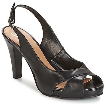 Topánky Ženy Sandále Betty London LIMONADE Čierna