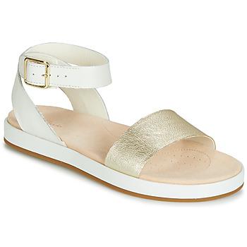 Topánky Ženy Sandále Clarks BOTANIC IVY Biela