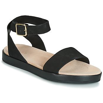 Topánky Ženy Sandále Clarks BOTANIC IVY Čierna
