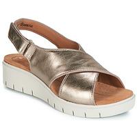 Topánky Ženy Sandále Clarks UN KARELY SUN Zlatá