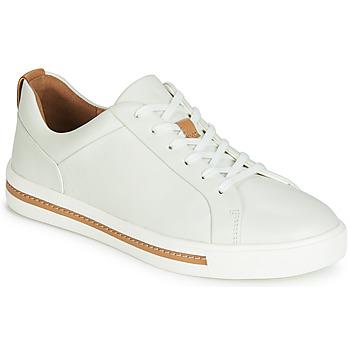 Topánky Ženy Nízke tenisky Clarks UN MAUI LACE Biela