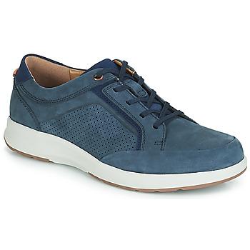 Topánky Muži Nízke tenisky Clarks UN TRAIL FORM Námornícka modrá