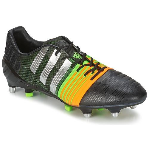 75bea8c7c3127 Topánky Muži Futbalové kopačky adidas Performance NITROCHARGE 1.0 SG Čierna  / Žltá