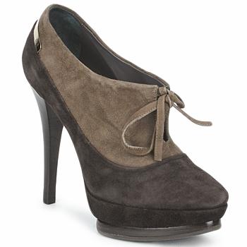 Topánky Ženy Nízke čižmy Alberto Gozzi CAMOSCIO ARATY Hnedá