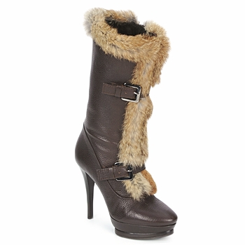 Topánky Ženy Čižmičky Alberto Gozzi BOTERO GRATO Hnedá