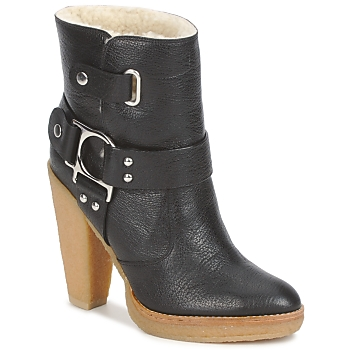 Topánky Ženy Čižmičky Belle by Sigerson Morrison ZUMA Čierna