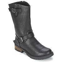 Topánky Ženy Polokozačky Les P'tites Bombes ZOLA čierna