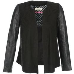 Oblečenie Ženy Kožené bundy a syntetické bundy Naf Naf COCOTTE Čierna