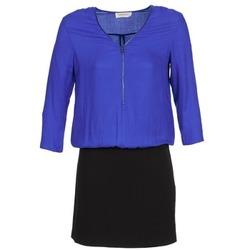 Oblečenie Ženy Krátke šaty Naf Naf KIMON DR Modrá / čierna
