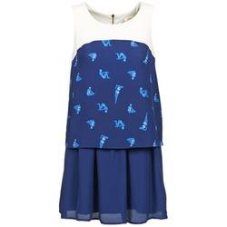 Oblečenie Ženy Krátke šaty Naf Naf LIBAIN Námornícka modrá