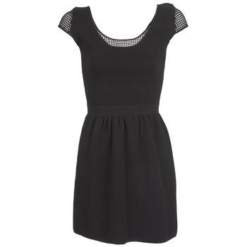 Oblečenie Ženy Krátke šaty Naf Naf MANGUILLA Čierna