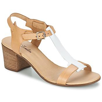 Topánky Ženy Sandále Betty London GANTOMI ťavia hnedá / Biela