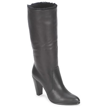 Topánky Ženy Čižmy do mesta Michel Perry CALF Čierna