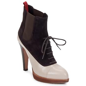 Topánky Ženy Čižmičky Michel Perry GLACELLE Púštna ruža