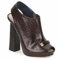 Topánky Ženy Nízke čižmy Pollini PA1617 Hnedá