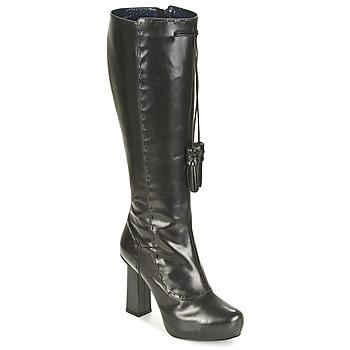 Topánky Ženy Čižmy do mesta Pollini PA2611 čierna