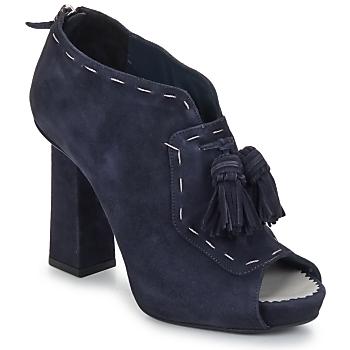 Topánky Ženy Nízke čižmy Pollini PA1620 Námornícka modrá