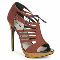 Topánky Ženy Sandále Pollini PA1602 Hnedá