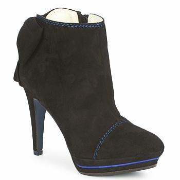 Topánky Ženy Nízke čižmy Tiggers MEDRAM Čierna