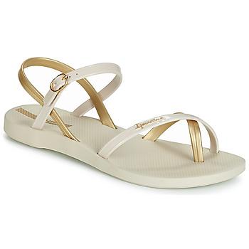 Topánky Ženy Sandále Ipanema FASHION SANDAL VII Béžová / Zlatá