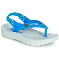 Topánky Deti Sandále Ipanema ANATOMIC SOFT BABY Modrá / Biela