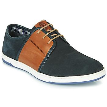 Topánky Muži Nízke tenisky Base London JIVE Modrá / Ťavia hnedá