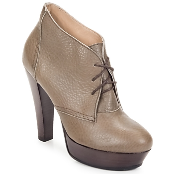 Topánky Ženy Nízke čižmy Keyté ETRIOU Hnedošedá