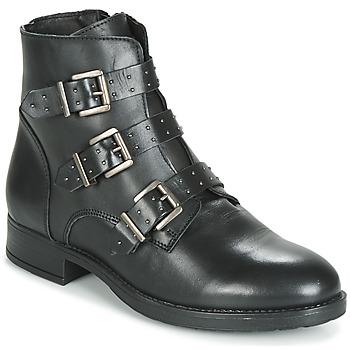 Topánky Ženy Polokozačky André MATTHEW Čierna