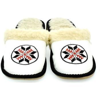 Topánky Ženy Papuče John-C Dámske biele papuče CIMEL biela