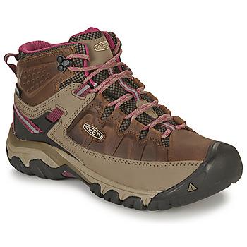 Topánky Ženy Turistická obuv Keen TARGHEE III MID WP Hnedá / Ružová