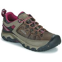 Topánky Ženy Turistická obuv Keen TARGHEE III WP Hnedá / Ružová
