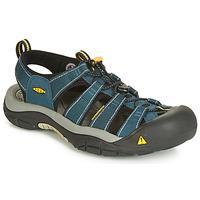 Topánky Muži Športové sandále Keen NEWPORT H3 Námornícka modrá