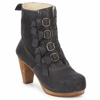 Topánky Ženy Čižmičky Sanita ELM CONE Čierna