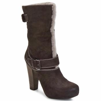 Topánky Ženy Čižmičky Vic EFARAT Hnedá